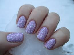 Wide Nail Beds Nailphotos By Lani Got Polish Challenge Valentines Lavender