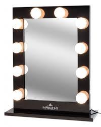 Light Up Vanity Table Black Makeup Vanity With Lights The Hollywood Vanity Makeup