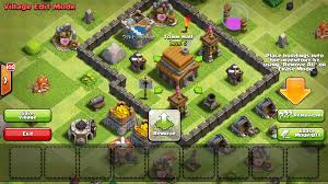 big clash of clans base in clash of clans how do you tell if enemy troops can be deployed in