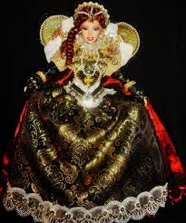 queen elizabeth i ooak barbie doll dakotas song dakotas song