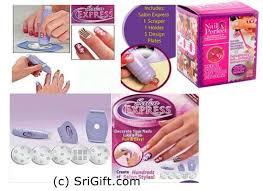 new salon express nail art kit srigift com the largest gift