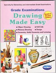 buy grade examination drawing made easy book online at low prices
