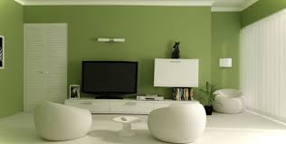 Wall Paintings Designs by Beautiful Small Living Room Design With Green Wall Paint Color And