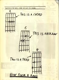 kleon this is a chord now start a band from the zine