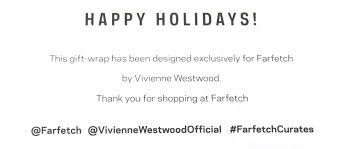 the quirky christmas wrapping with vivienne westwood