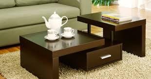 Table Designs Eudamonia Dark Brown Coffee Table Set Tags 48x48 Coffee Table