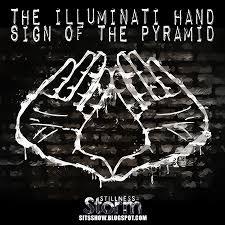 Illuminati Flag The Illuminati Hand Sign Of The Pyramid Why The Cabal Needs Us