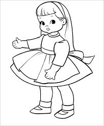 paper doll outline template eliolera com