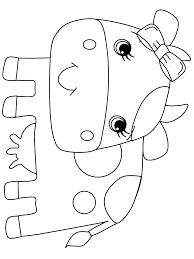 print coloring book cow8 animals coloring pages kids