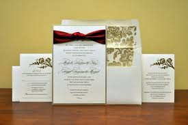 maroon and gold wedding maroon and gold floral wedding invitation a noteworthy