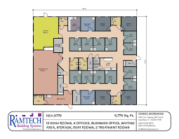 layout floor plan modular building floor plans healthcare clinics offices