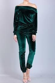 blue velvet jumpsuit my closet the shoulder velvet jumpsuit chantalstylz