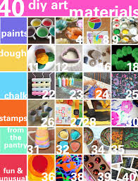 At Home Diys by 40 Art Materials You Can Make At Home Babble Dabble Do