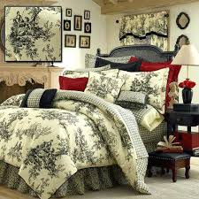 French Toile Bedding Toile Bed Skirt Smartwedding Co