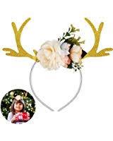 deer headband elope reindeer antlers headband clothing
