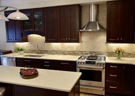 cherry cabinets with quartz countertops waypoint cabinets with a