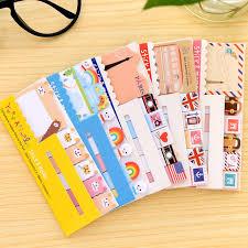 klebrige frische korea briefpapier notizen kawaii - Stin With Lesezeichen Mit Den