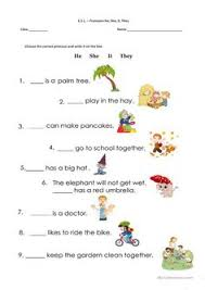 a simple exersise to use the demonstrative pronouns this that