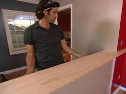 Half Wall Room Divider How To Build A Pony Wall Room Divider How Tos Diy