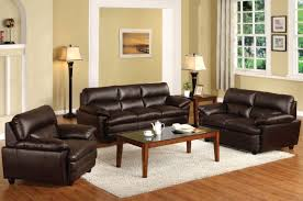 imposing ideas brown leather living room sets nice idea brilliant
