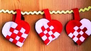 Fabric Heart Decorations 45 Craft Ideas For Handmade Garlands Recycling Felt Pieces