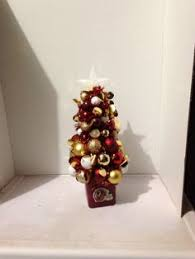 washington redskins ornament wreath my pieces