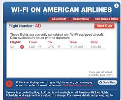 wifi on american airlines flights american airlines wifi widget the points guy