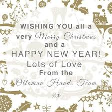 wishing you all a merry a happy new year
