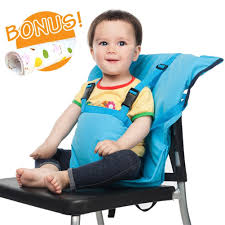 Bag High Chair Amazon Com Baby Highchair Harness Portable Travel Safety Belt