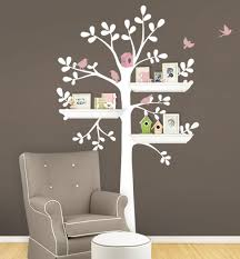 stickers arbre chambre b hibou oiseaux arbre wall sticker nursery princesse fille chambre mur