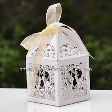 personalized wedding cake boxes laser cut wedding favors with free