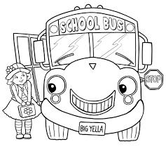 bus coloring pages pixelpictart com