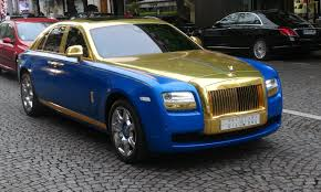 rolls roll royce gold rolls royce ghost youtube