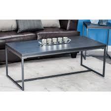 sauder edge water estate black built in storage coffee table