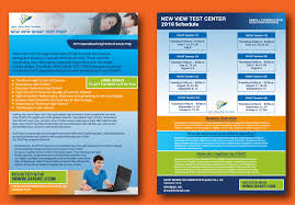 home design for new year bold modern flyer design for new view test centers llc by akash