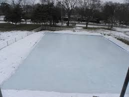 Backyard Rink Liner by Ice Rink Kits For Parks And Recs