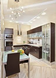 kitchen design with cool small kitchen modern style glass wood