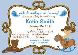 baby boy shower invitations cowboy theme cowboyshowerinvitation