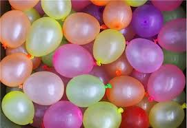 water balloons picture of water balloons