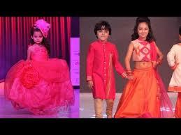 india kids fashion week kids ramp walk youtube