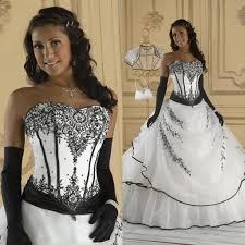 white and black wedding dresses vintage black and white wedding dresses gown soft sweetheart