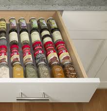 In Drawer Spice Racks Renjia Silicone Strips Hold Spice Drawer Bottle Spice Organizer