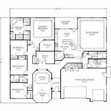 House Plans With 4 Bedrooms 4 Room House Plans Home Plans Homepw26051 2 974 Square Feet 4