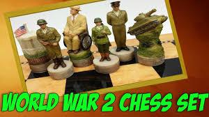 revolutionary world war 2 chess set ww2 toys ww2 games youtube