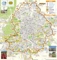Madrid Subway Map Map Of Madrid Bike Paths Bike Routes Bike Stations