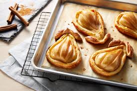 baked pears in puff pastry wewalka
