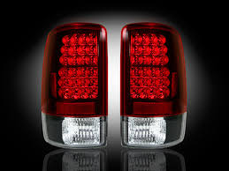 2004 Silverado Tail Lights Part 264177rd Red Led Tail Lights Chevy Tahoe U0026 Gmc Yukon