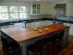 Custom Kitchen Countertops Cabinet Kitchen Countertop Edges Edge Grain Wood Countertops