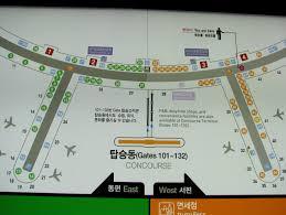Incheon Airport Floor Plan Incheon International Airport Terminal Map Incheon Sk Image