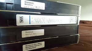 woodstock 1994 vhs pack red chili peppers metallica